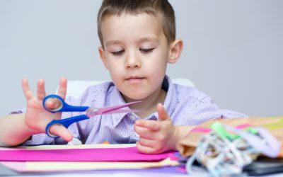 Fine Motor Skills: Teaching Kids to Use Scissors