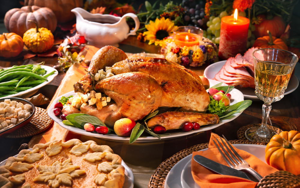 Happy Thanksgiving from Woodlands Tree House!